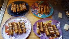 French Toast NutellaRolls